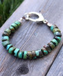 Knotted Turquoise Bohemian Bracelet