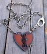 Cross My Heart Bohemian Necklace