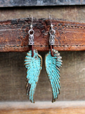 Angel Wing Boho Earrings