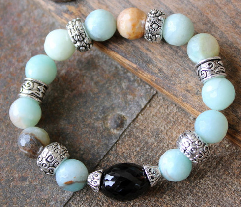 amazonite luxury stretch bracelet ever designs jewelry