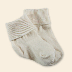 Organic Cotton Baby Sock - Anklet 2-Pak