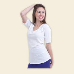 Organic Cotton Raglan Blouse