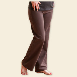 Organic Cotton Straight Leg Pants