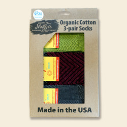Organic Cotton Socks Share the Journey