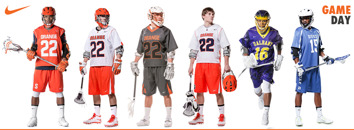 Custom Nike Lacrosse Uniforms