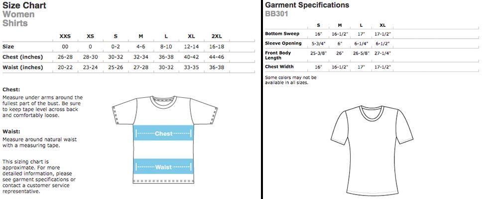 American Apparel Poly-Cotton Custom Women's T-Shirt | Elevation Sports