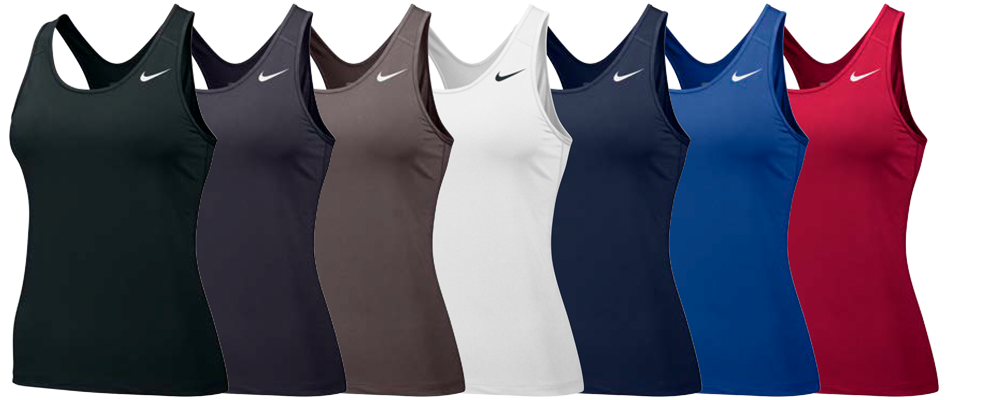 Nike Women's Team Pro Cool Custom Tank Tops