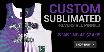 Custom Sublimated Lacrosse Reversibles