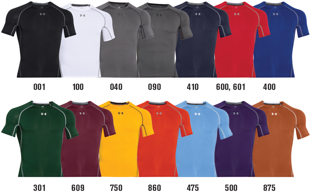 Under Armour Custom Compression Shirts Elevation Sports