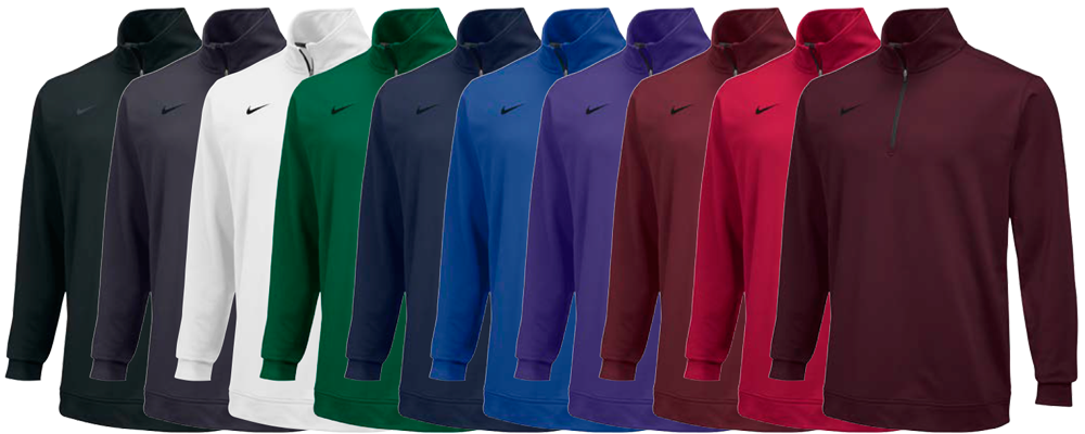 Custom Nike Half Zip Dri-FIT Shirts - Elevation Sports