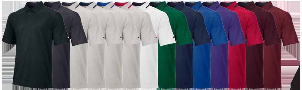 Nike fb players custom polo shirts elevation sports for Customize nike shirts online