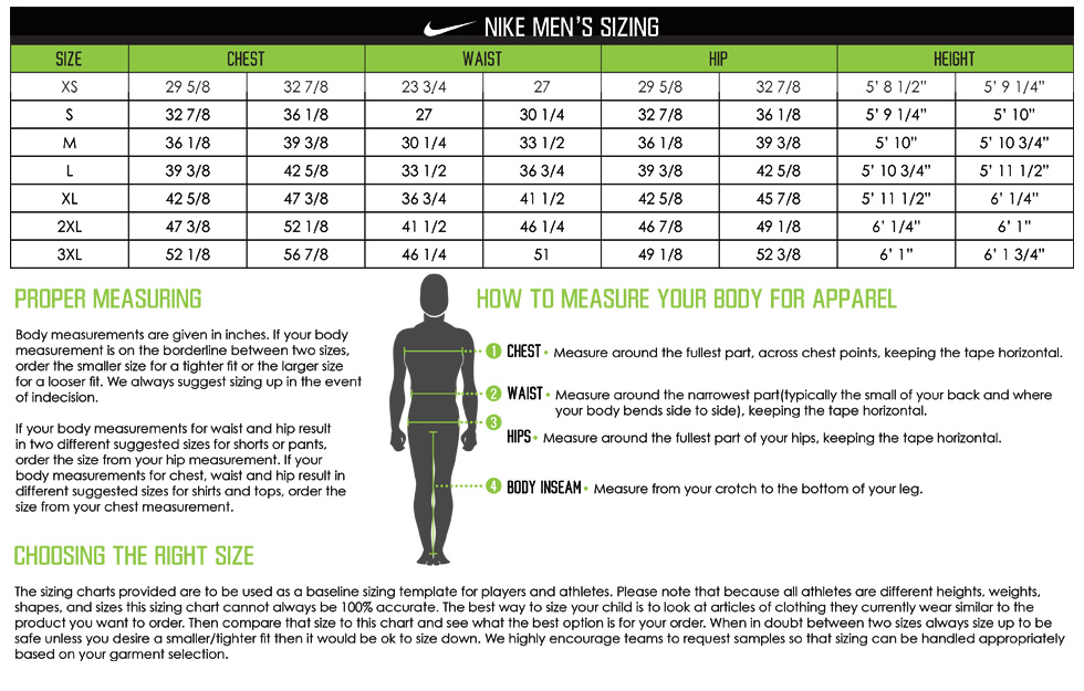 nike college jersey size chart , Narta.innovations2019.org