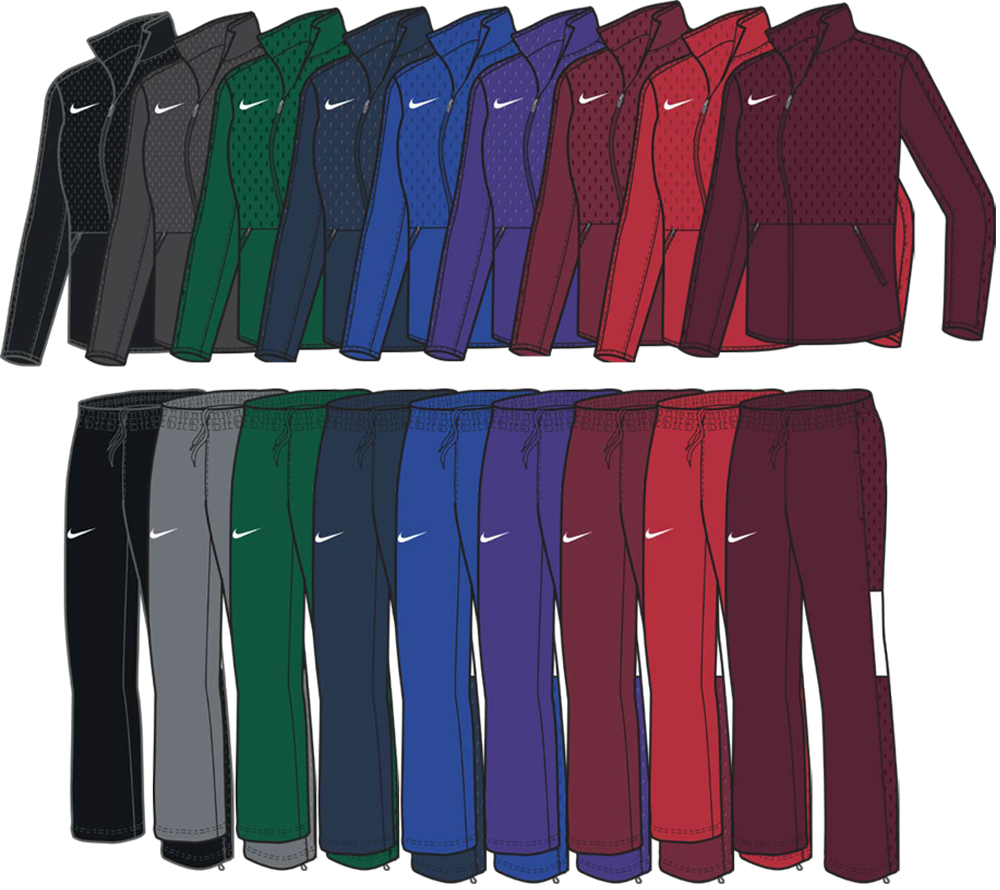 Nike Women's Rivalry Custom Warm-Up Jackets