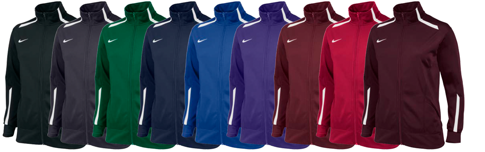 Custom Nike Overtime Women's Team Jackets - Elevation Sports