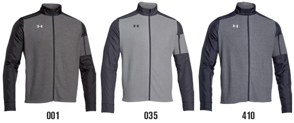 Custom Under Armour Full-Zip Sweatshirts