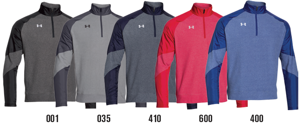 Custom Under Armour Quarter Zip Sweatshirts