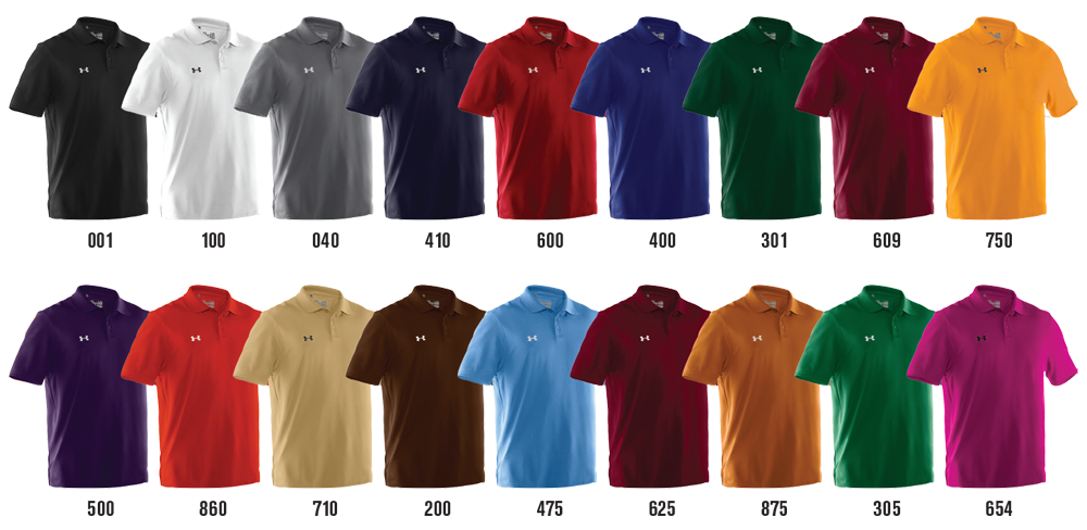 Under armour performance team polo shirt elevation sports for Under armour 3xl polo shirts