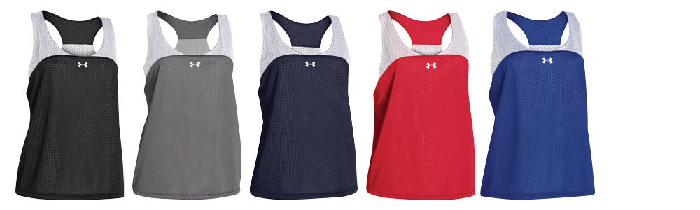 Reversible Under Armour Custom Women's Lacrosse Pinnies