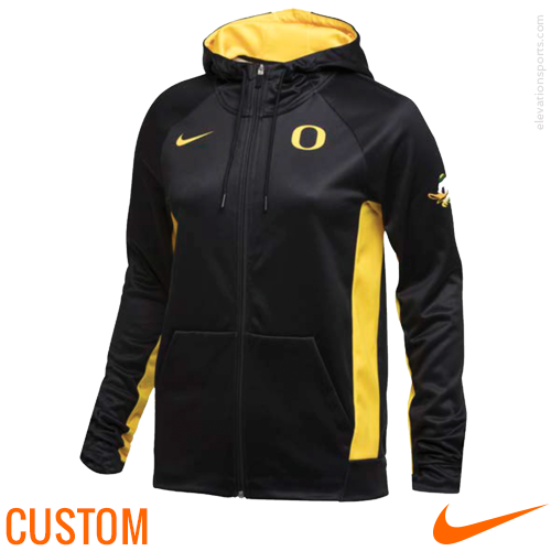 Custom Nike Women's Full-Zip Sublimated Hoodies