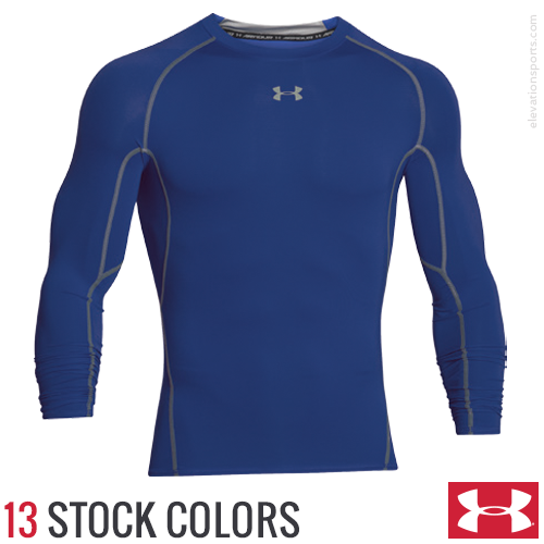 under armour custom long sleeve compression shirts
