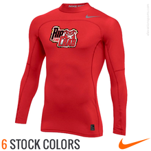 Nike Pro Hyperwarm Mock Custom Compression Shirt