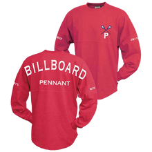 Custom long sleeve oversized billboard t-shirt
