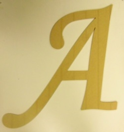 Wooden Beadboard Alphabet Monotype Letters Wall Decor Paintable DIY Craft