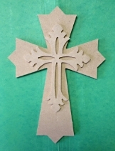 Kids, or Small Cross Kit, Wooden DIY VBS Craft Kit 1