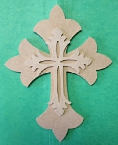 Kids, or Small Cross Kit, Wooden DIY VBS Craft Kit 2