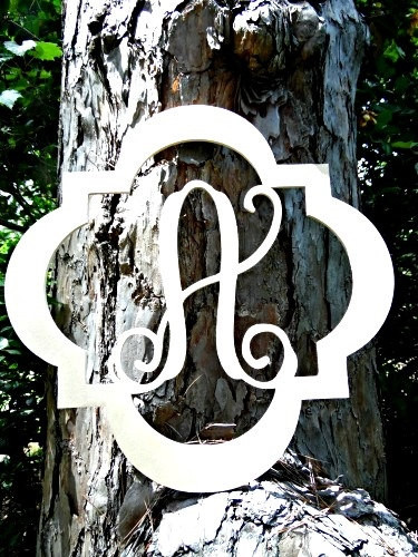evie monogram letter frame wooden unfinished diy craft