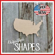 Craft Shapes, Wooden Cutouts DIY shape, Paintable craft