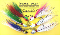 Fluke Killer Bucktail Jig Rig - 3/8 oz. Only