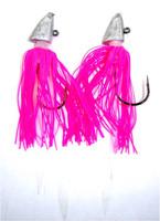 Triangle Head w/ Monster Skirt Tilefish Rig - Double