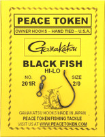 Black Fish Rigs - Single Hook