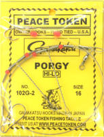Porgy OWNER 2 Hooks Top & Bottom Rig