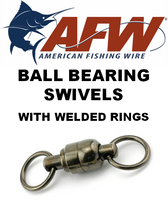 Swivels - AFW Ball Bearing Swivels w/ Welded Rings