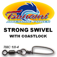 Swivels - Tsunami Strong Swivel w/ Coastlock