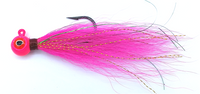 Peace Token Lures - Fluke Big Eye Bucktail Jigs (1/2 oz.)