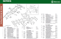 Land Rover Series II/IIA/III Bulkhead & Chassis Parts Exploded View Diagram by Bearmach