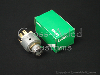 Land Rover Series IIA/III 2.25 Ignition Switch ('67-Up w/o Steering Column Lock) Petrol Negative Earth #551508