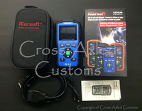 iCarsoft #i820 Land Rover / Range Rover & Multi-Vehicle OBD-II Diagnostic Fault Code Scanning Tool. #i820