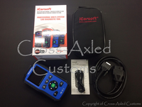 iCarsoft #LR V1.0 Land Rover / Range Rover & Multi-Vehicle OBD-II Diagnostic Fault Code Scanning Tool. #LR V1.0 (Blue)