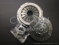 Land Rover Defender / Discovery 1 / Range Rover Classic 2.5 NA / TD / 200-300TDI Clutch Disc, Pressure Plate, & Throw-Out Release Bearing Kit. 24-Spline Style. Bearmach #STC8358