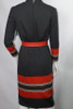 Vintage 1960s Mr. Blackwell Sweater Dress with Matching Hat, Belt and Scarf