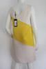 "1990's ""Dolce & Gabbana"" Yellow & White Shift Dress"