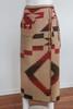 - Ralph Lauren Southwestern Style Heavy Wrap Skirt