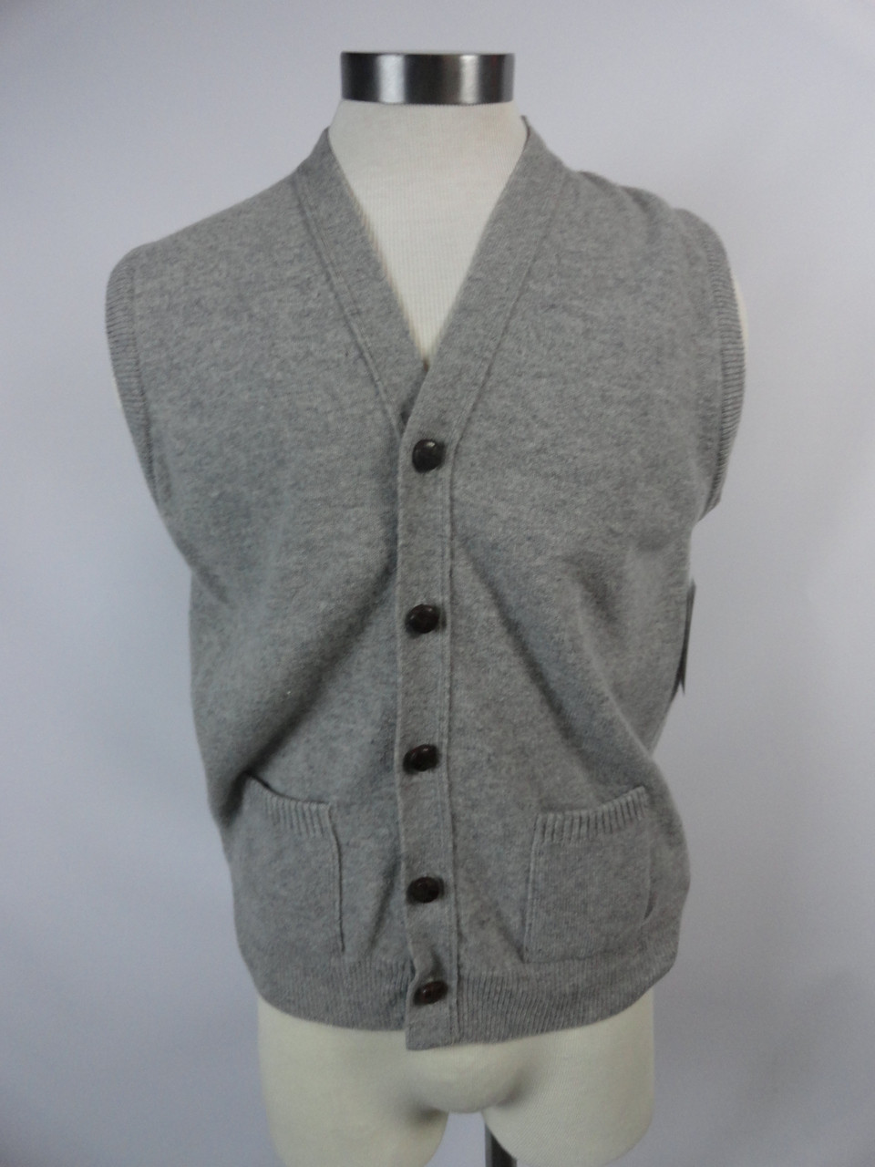 "Men's Vintage 60's ""Lord Jeff"" Lambs Wool Sweater"