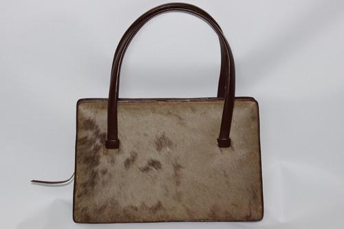 1950s Animal Hide Handbag from Zimmerman's Taxidermists of Nairobi