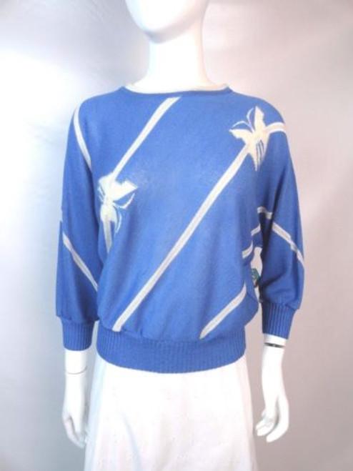 Vintage 80's Strickmode Dolman Sleeve Sweater SOLD