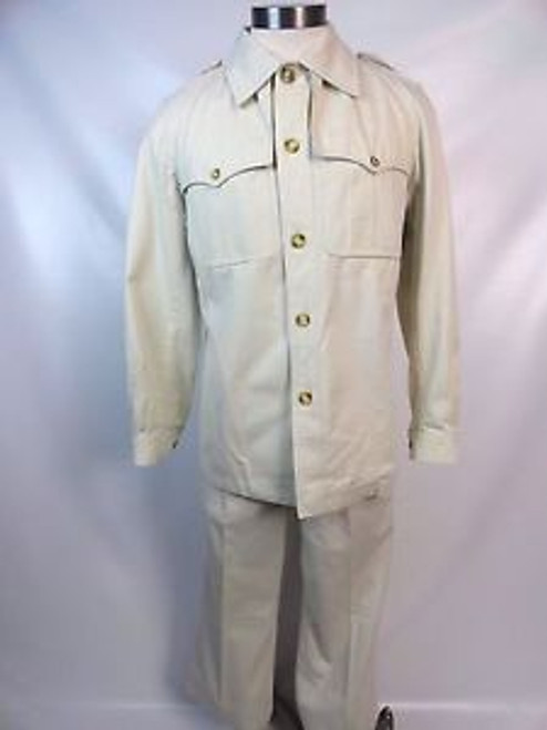 Vintage 60's Yves Saint Laurent Safari Suit